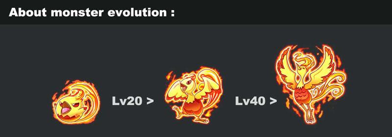 monster evolve games